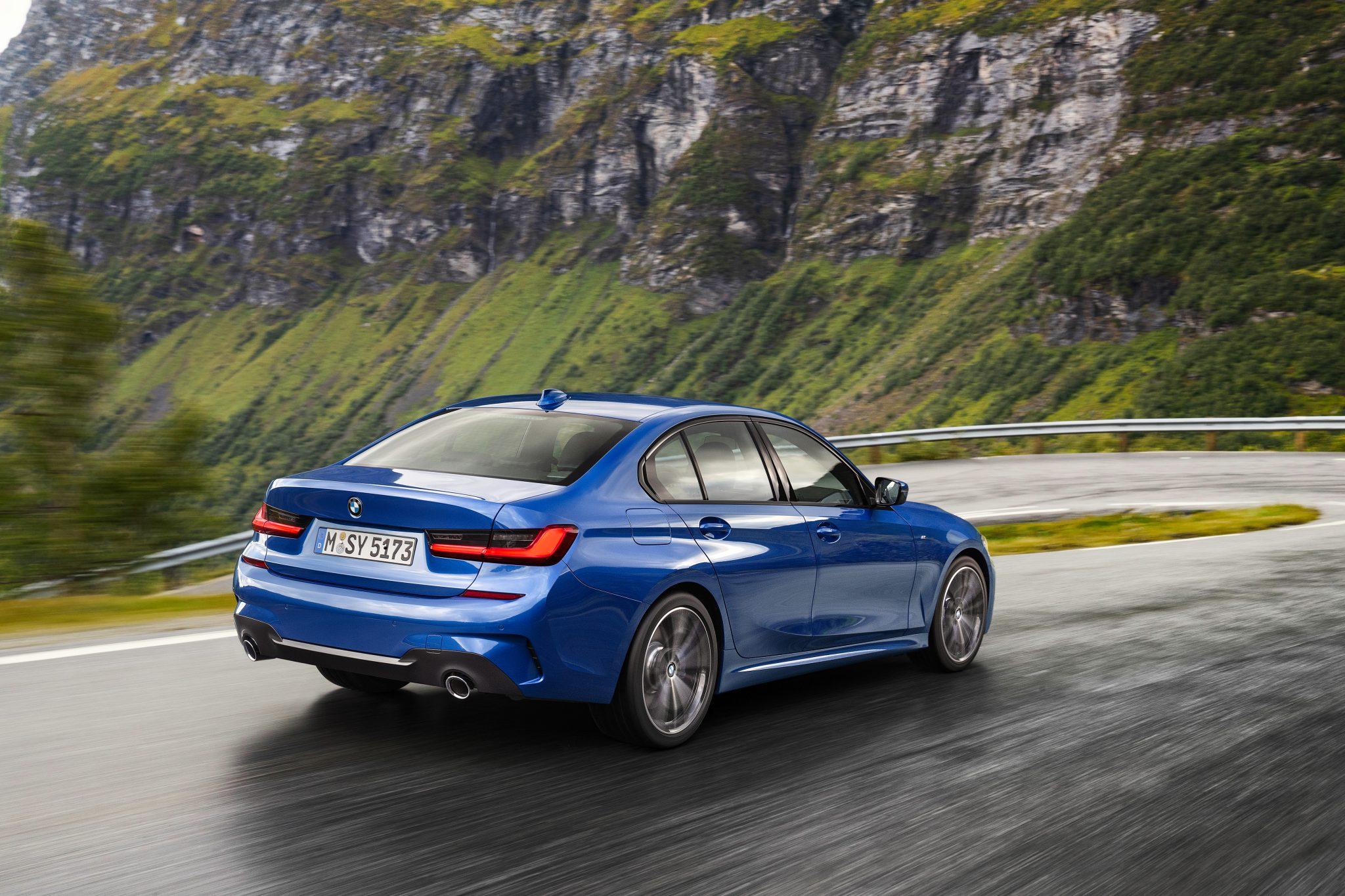 BMW 3 Serie achterkant