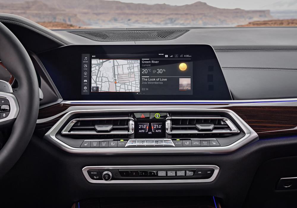 BMW X5 Interieur Mediacenter