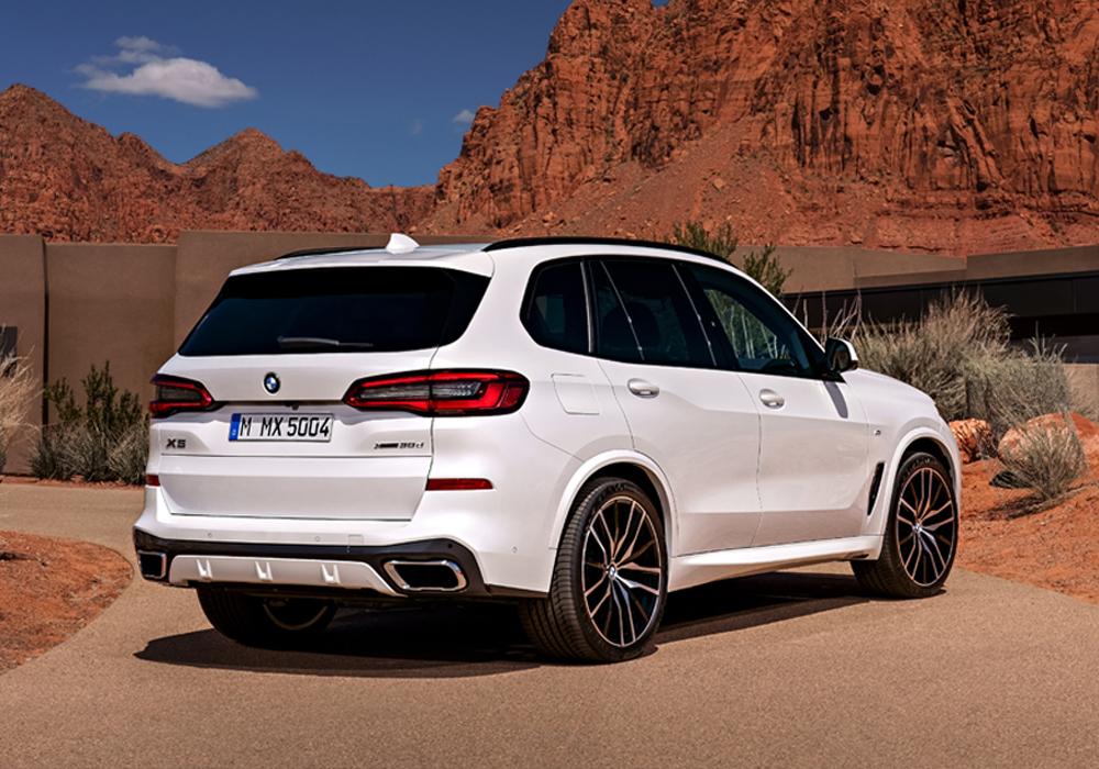 BMW X5 Exterieur Achterkant