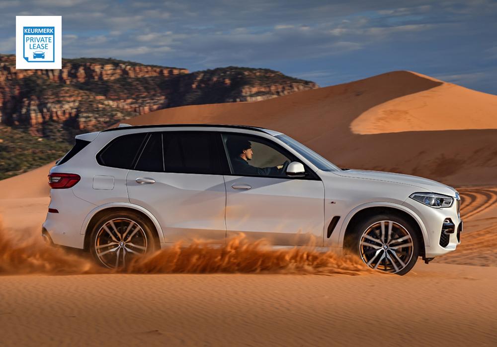 BMW X5 Exterieur Zijkant
