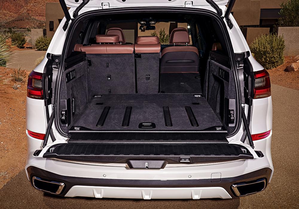 BMW X5 Bagageruimte