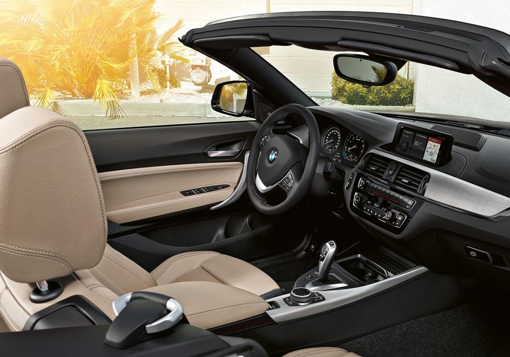 BMW 2 Serie Cabrio Interieur