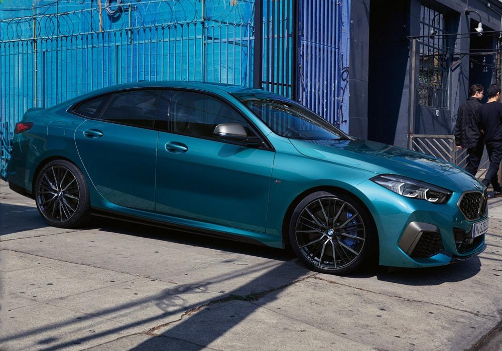 BMW 2 Serie Aqua Blue