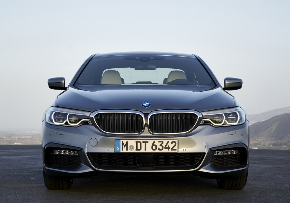 BMW 5 Serie voorkant