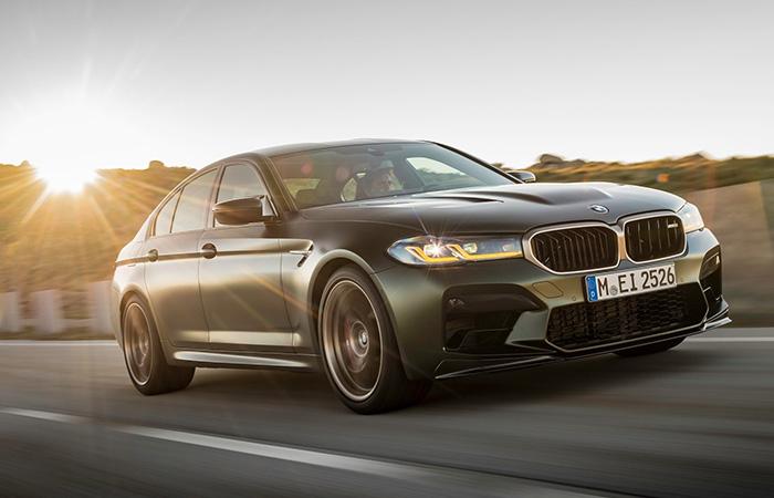 BMW M5 CS Schuin Voorkant