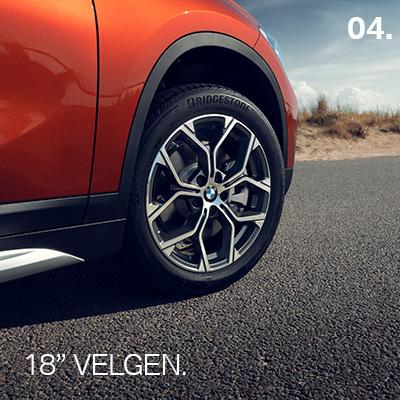 BMW X1 Orange Edition Velgen 18 Inch