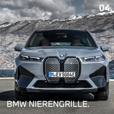 BMW iX Nierengrille