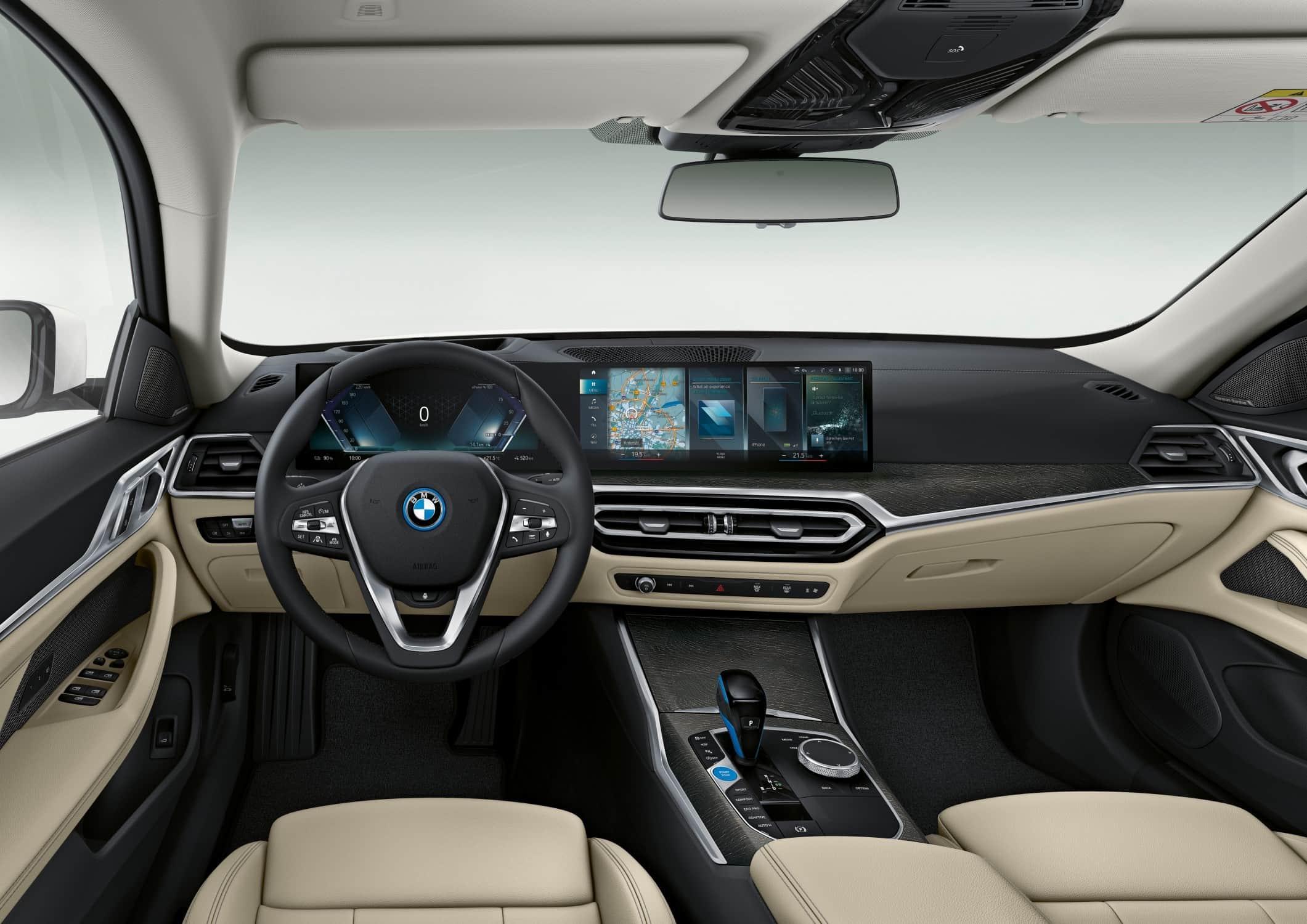 BMW i4 Bestuurderspositie
