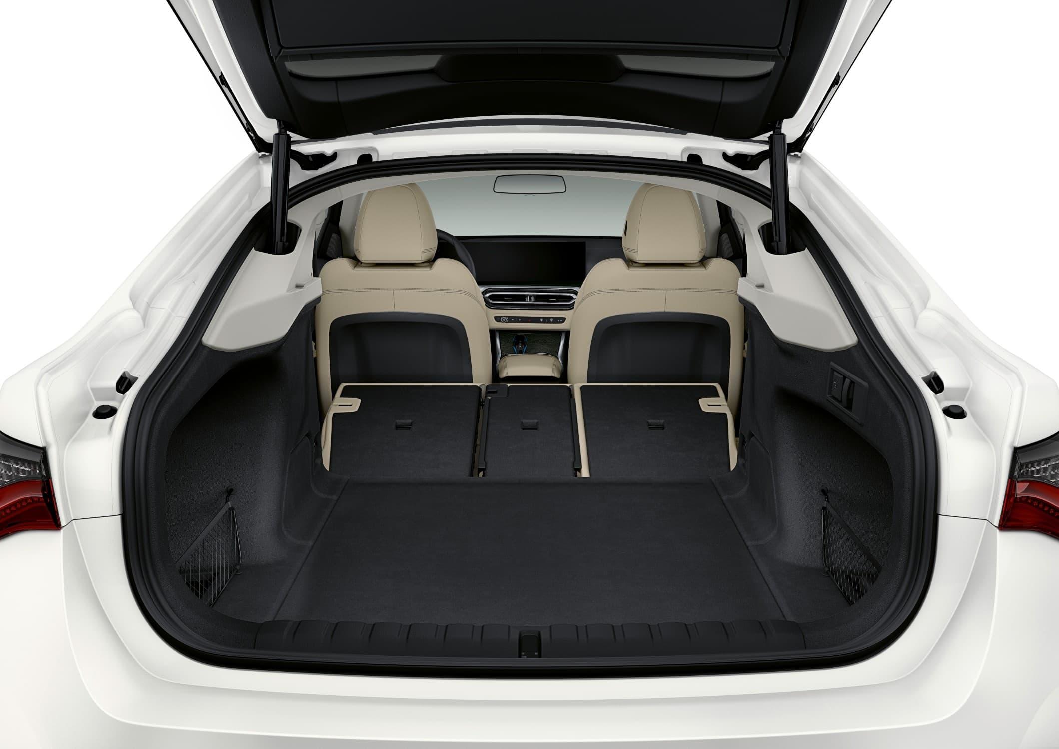 BMW i4 bagageruimte