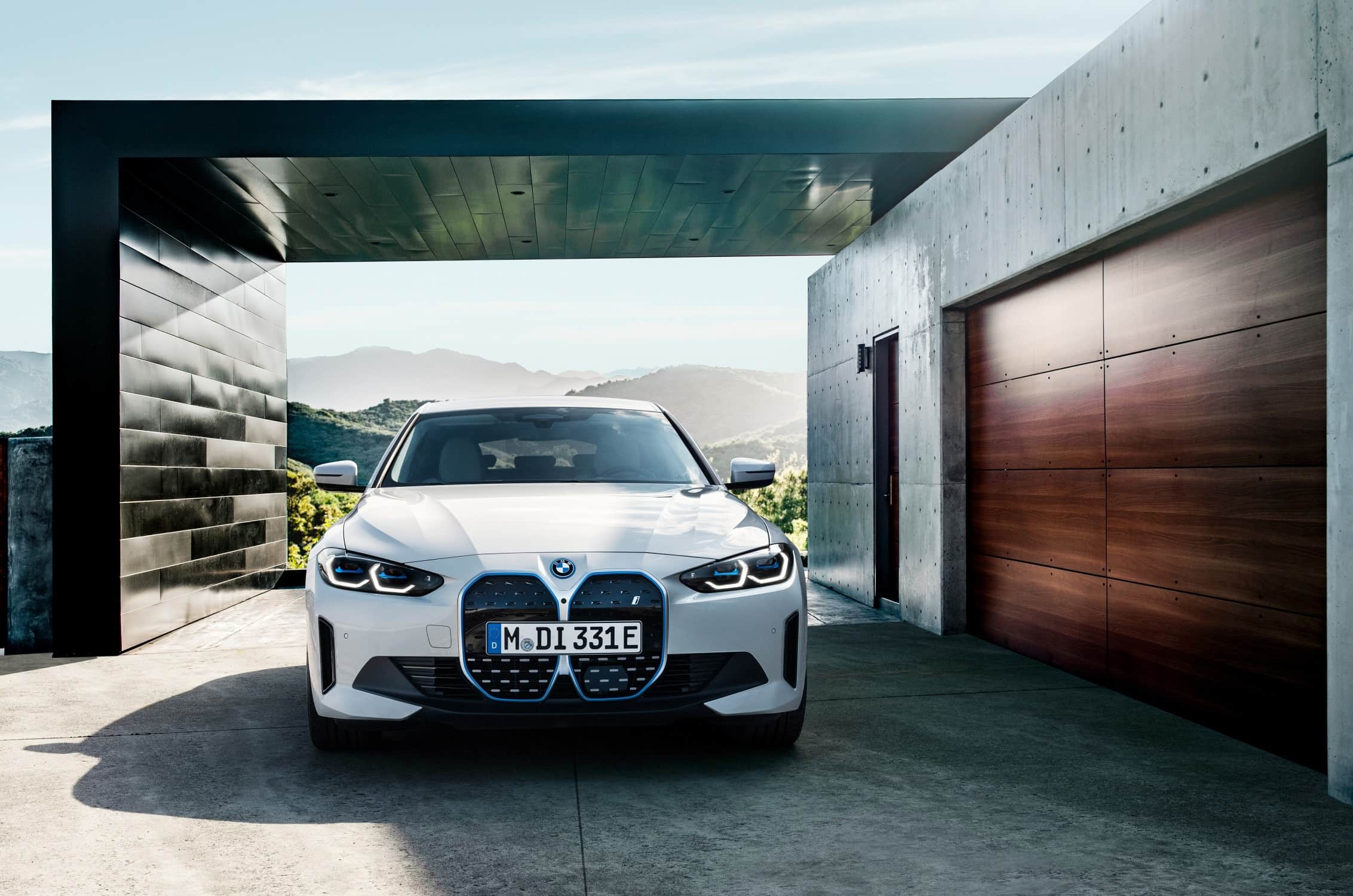 BMW i4 Voorkant