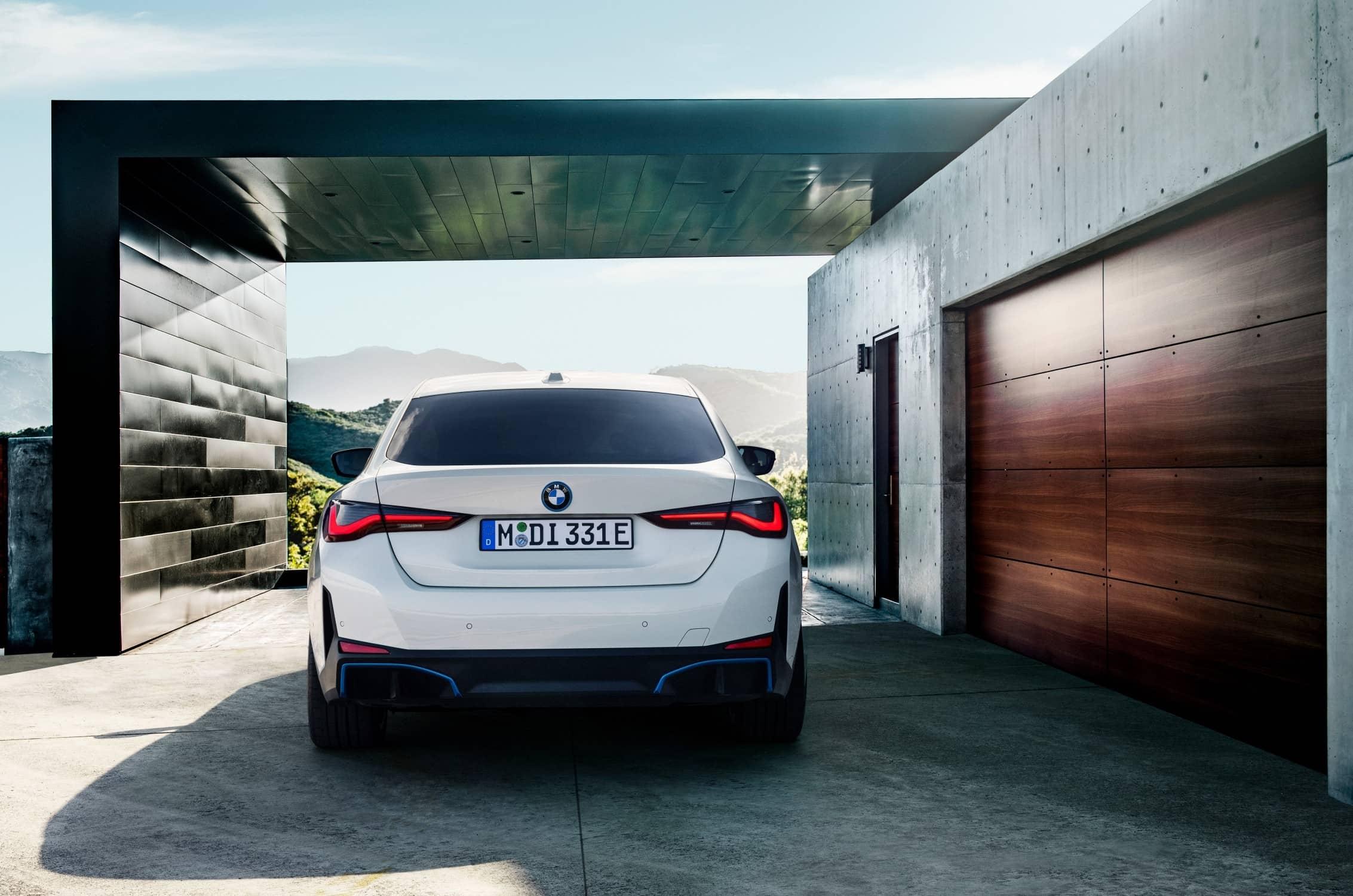 BMW i4 Achterkant