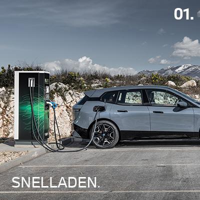 BMW iX Opladen
