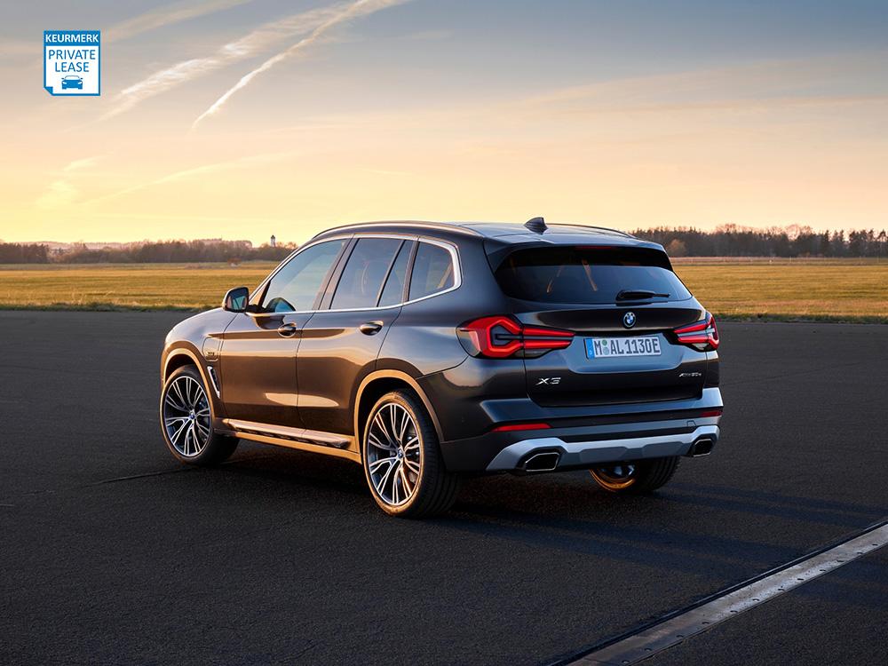 BMW X3 Private Lease Keurmerk