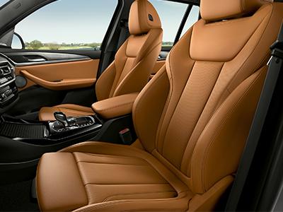 BMW X3 Voorstoelen