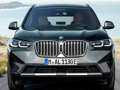 BMW X3 Grille