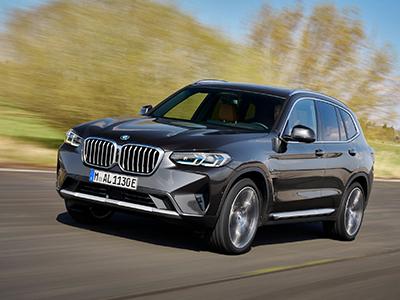 BMW X3 Schuin Voorkant