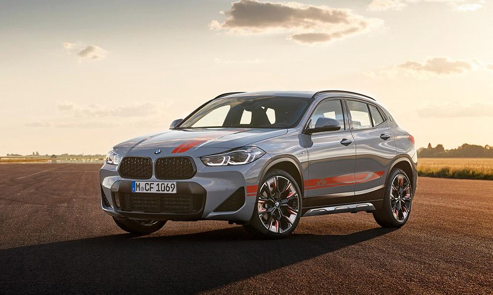 BMW X2 Voorkant