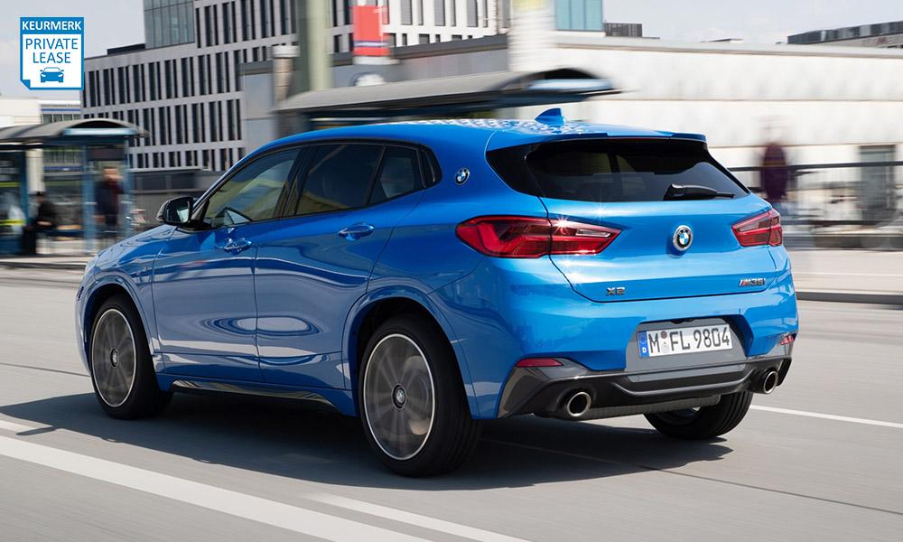 BMW X2 M35i Achterkant