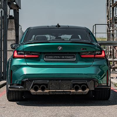 BMW M3 Sedan Uitlaten